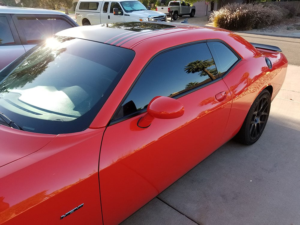 mobile window tinting at home