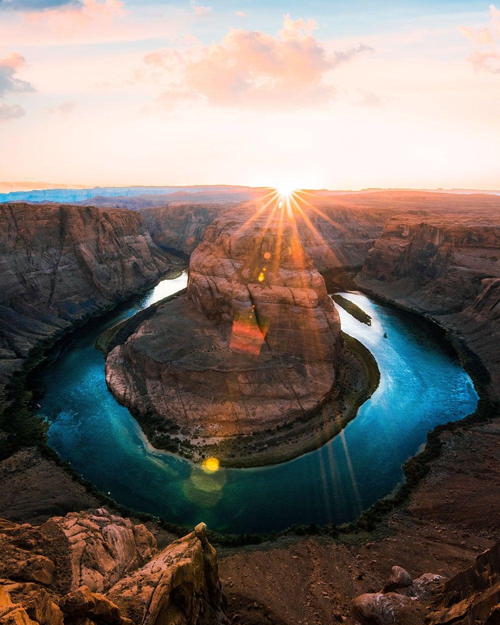 phoenix desert sun rays