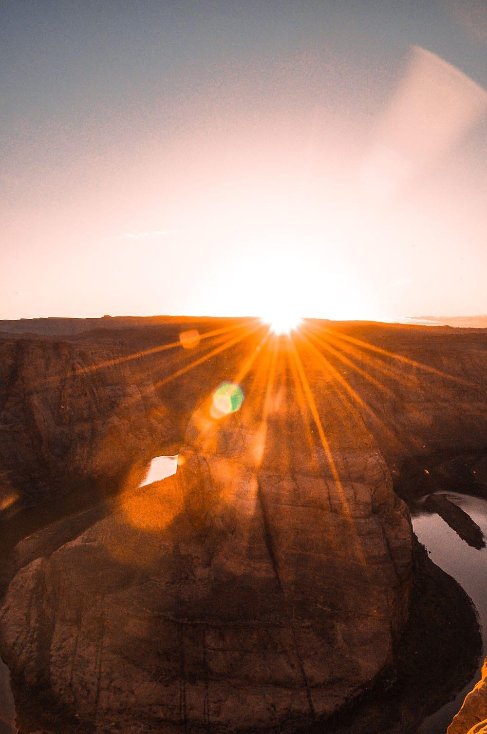 phoenix sun glare